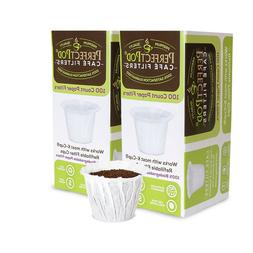 200 Disposable K-Cup Paper Coffee Filter for Keurig Cuisinar