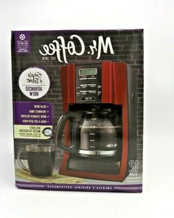 Mr. Coffee 12 Cup Programmable Modern Design with Chrome Fro