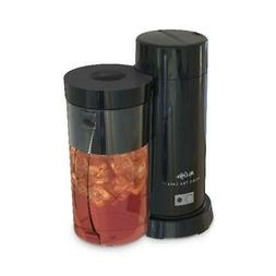Black Iced Tea/Iced Coffee Maker 2 Quart Removable Steeping