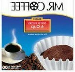 """""""4 Cup"""" 100-Count Coffee Filter For Mr. Coffee JR-4, Part Nu"""