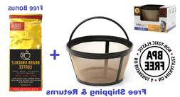 GoldTone Reusable 8-12 Cup Basket Coffee Filter for Mr. Coff
