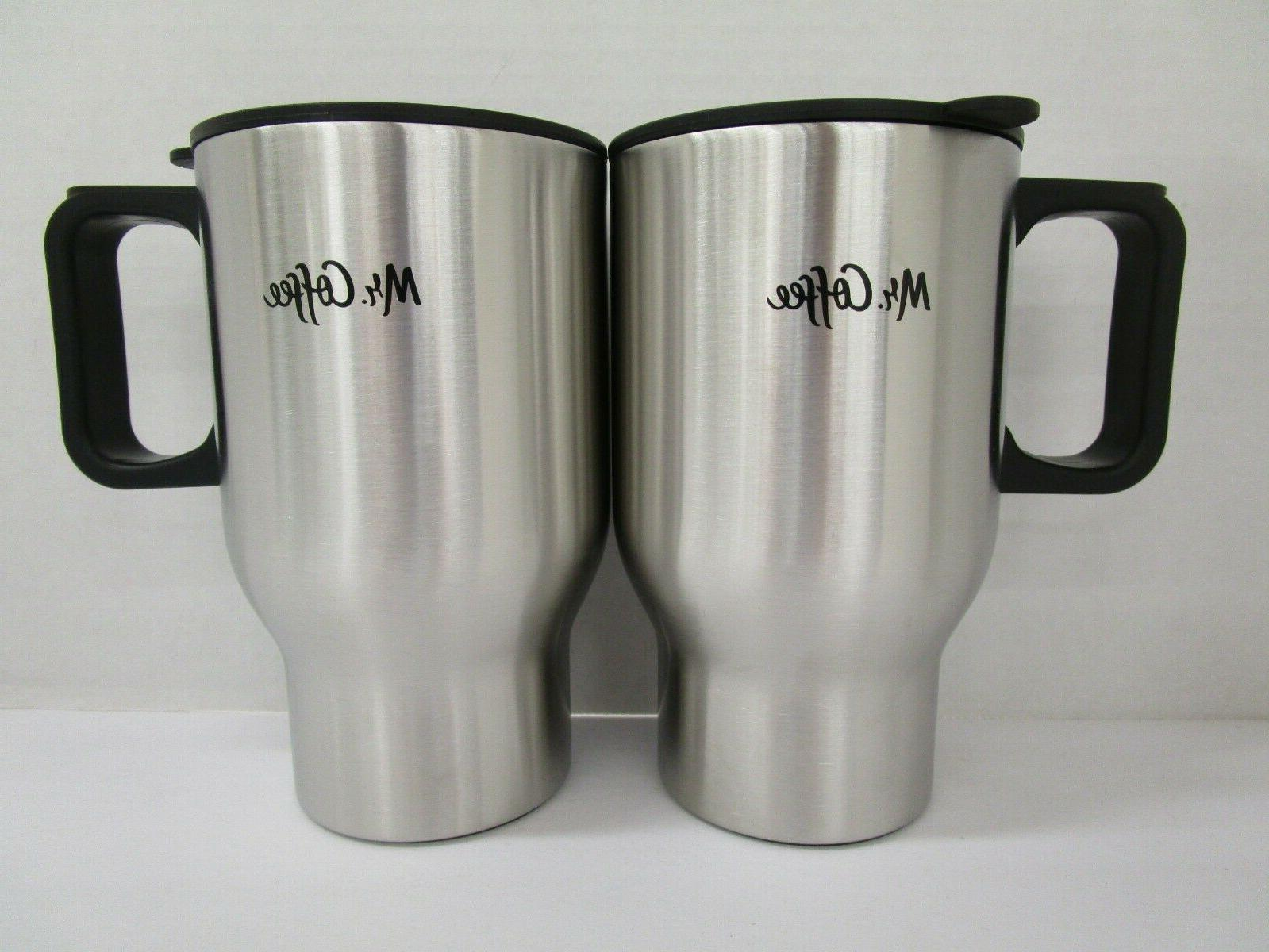 Mr. Coffee 72793.02 Expressway 15 Oz. Stainless Steel Travel
