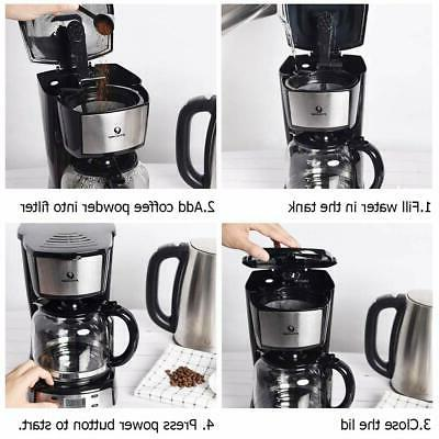 Posame Electric Coffee Cup Programmable Coffee
