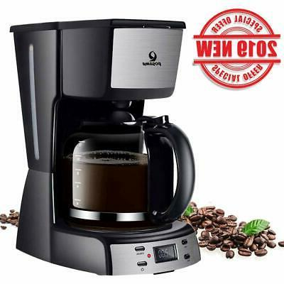 electric coffee makers 12 cup programmable smart