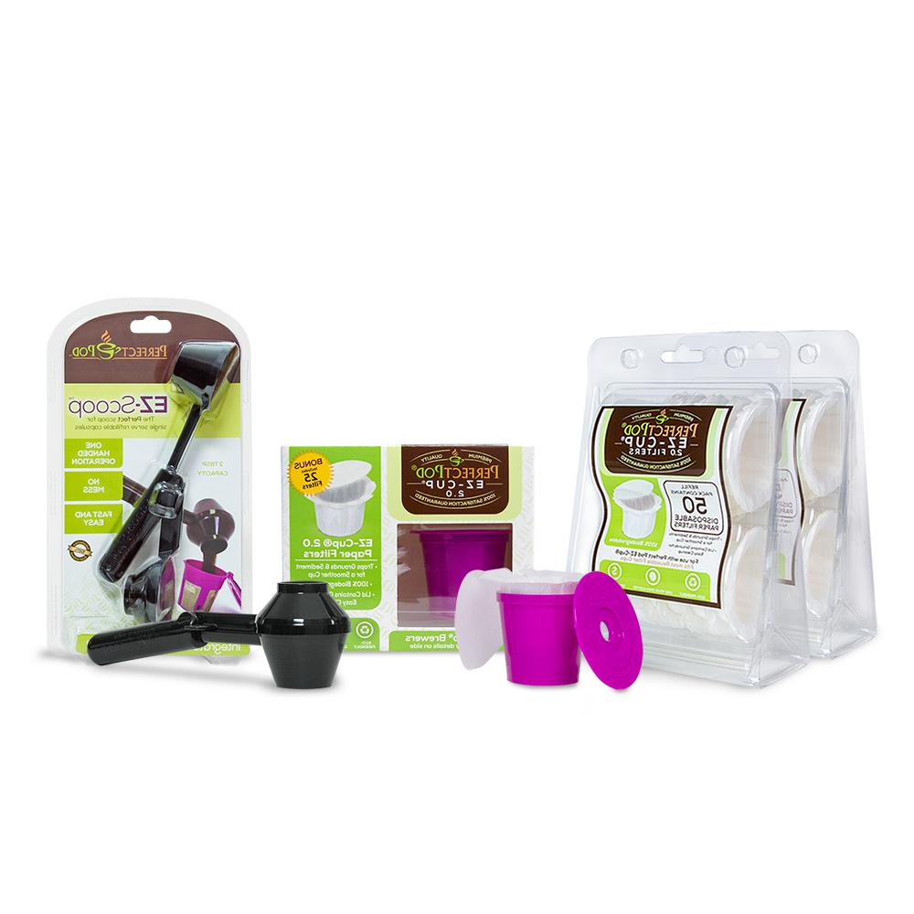 EZ-Cup 2.0 by Perfect Pod for Keurig 2.0 - K200, K300, K400,