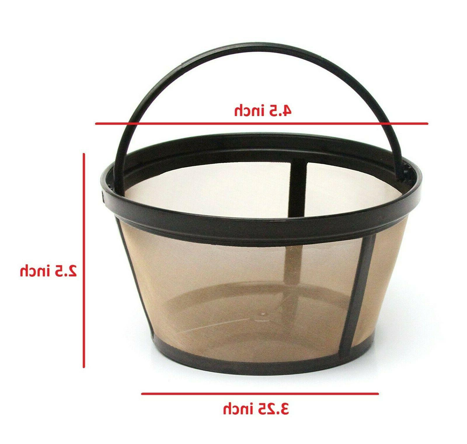 GoldTone Reusable Basket Coffee for Mr Makers