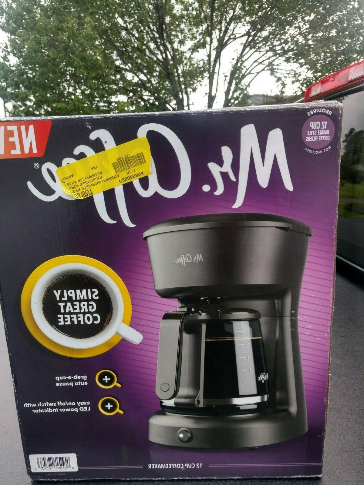 mr coffee 12 cup coffeemaker with easy