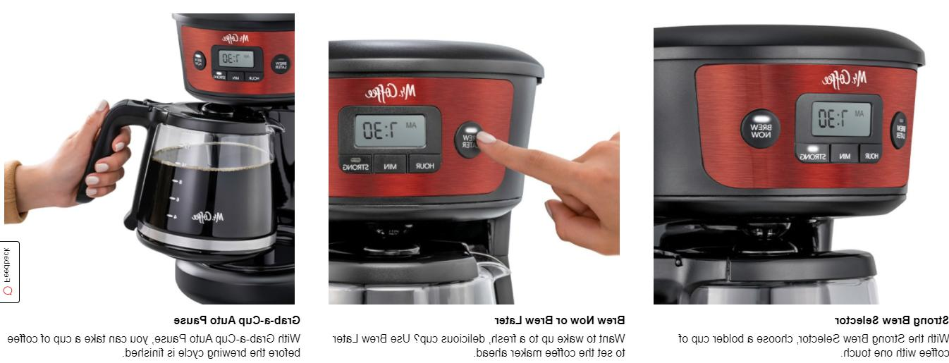 Mr. Coffeemaker, Brew Selector, Stainless