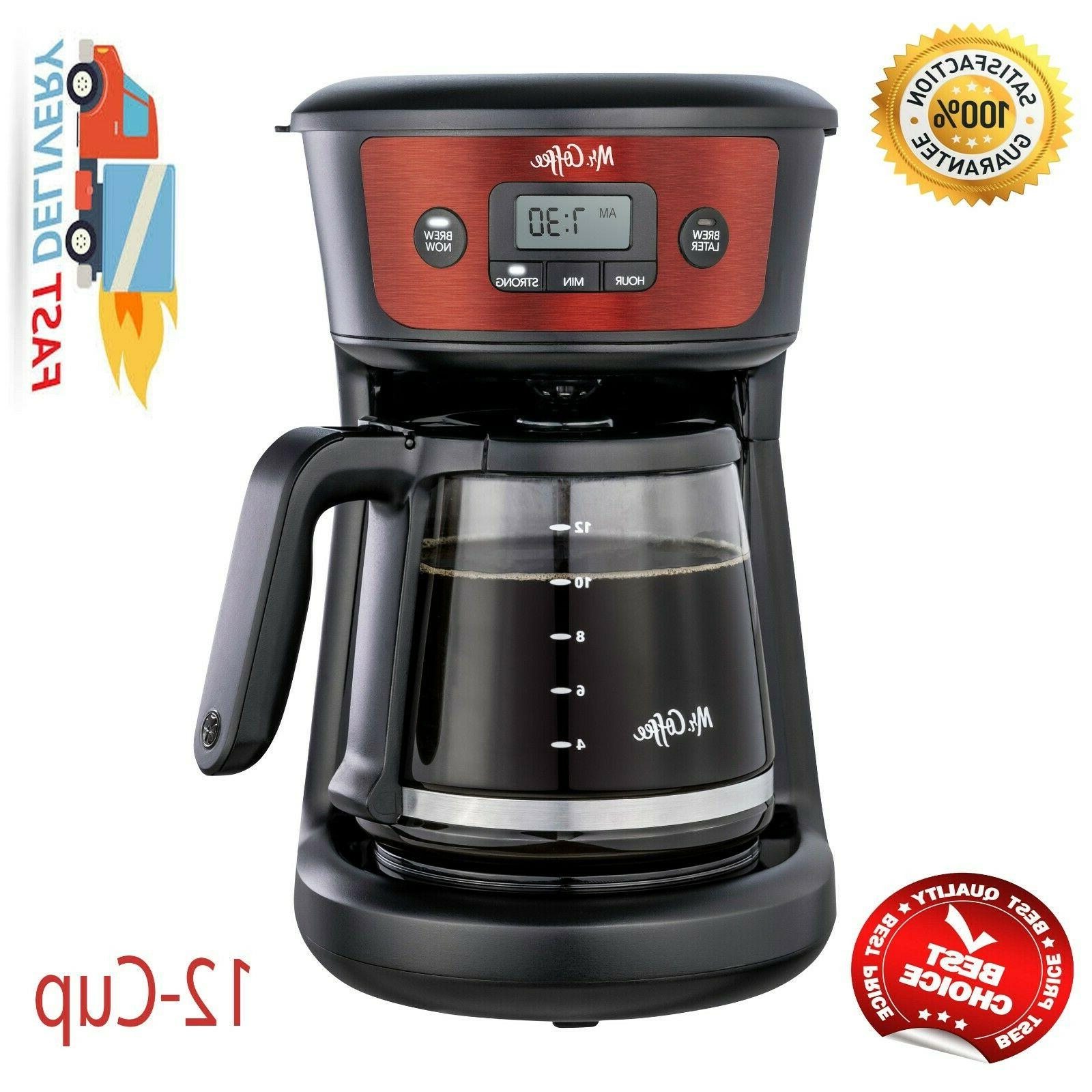 Mr. Coffeemaker, Strong Stainless