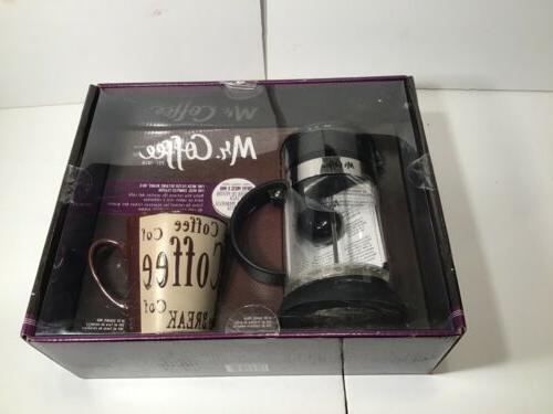 MR GLASS & BOXED GIFT SET