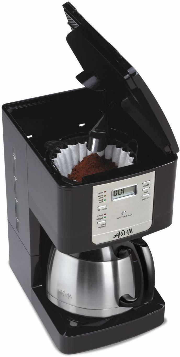Mr. Coffee Cup Thermal Programmable Coffee Maker