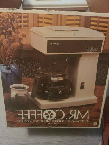 mr coffee automatic coffee brewing system 10