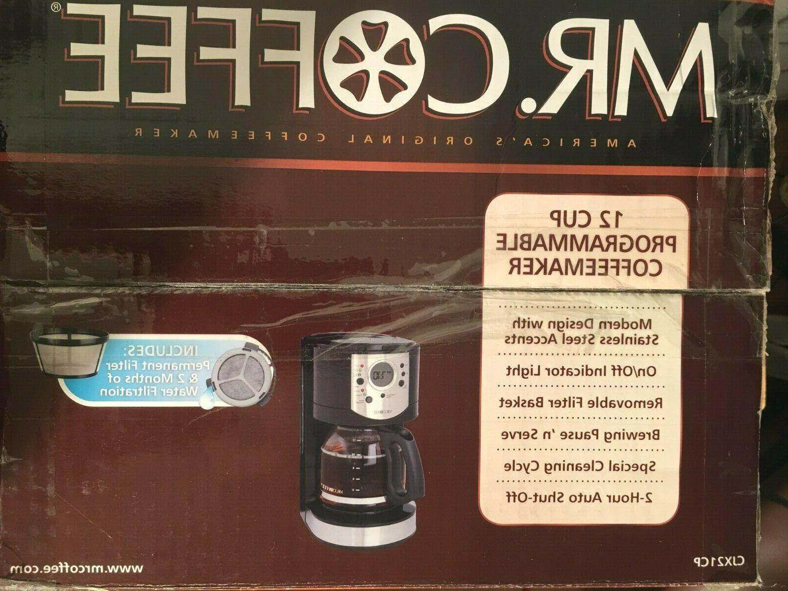 Mr. Coffee Programmable New in Box