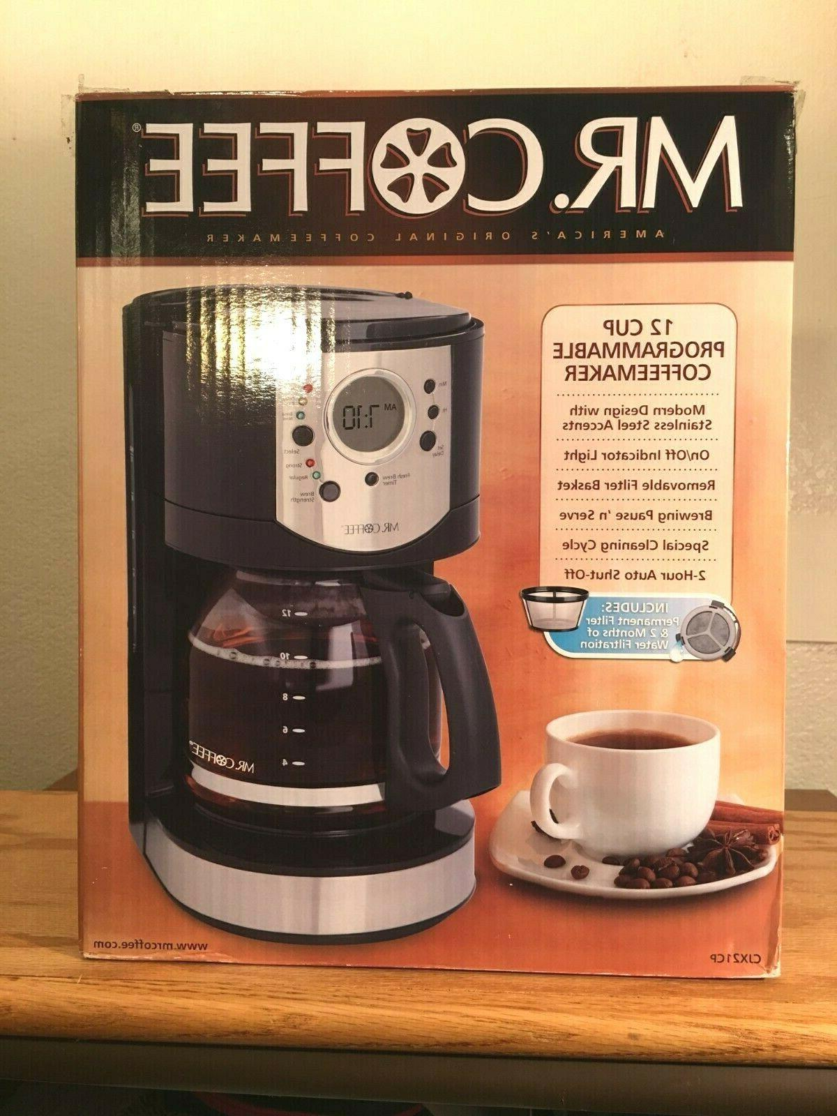 Mr. CJX21CP 12-Cup Programmable Coffee in