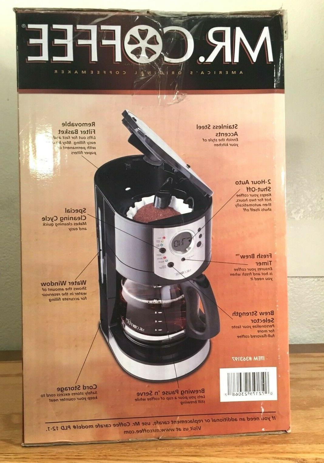 Mr. Coffee CJX21CP Programmable in