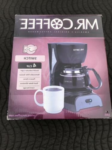 mr coffee dr5 4 cup coffee maker