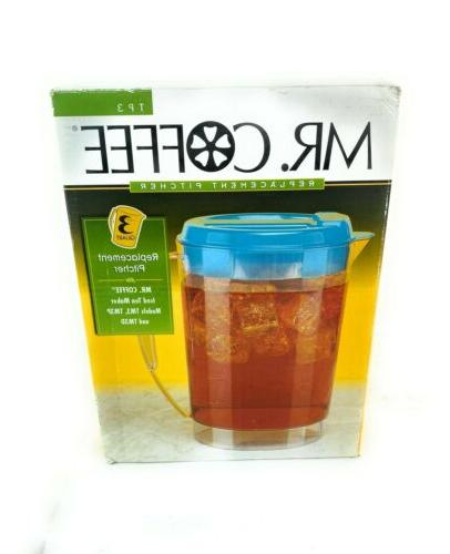 mr coffee iced tea maker replacement pitcher