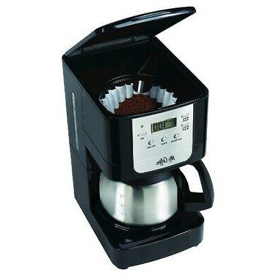 Mr. 5 Cup Programmable Maker With Stainless Carafe