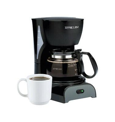 mr coffee simple brew 4 cups black