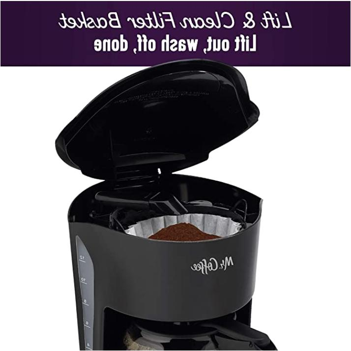 Mr. Coffee SK13-RB Coffee Maker, Black