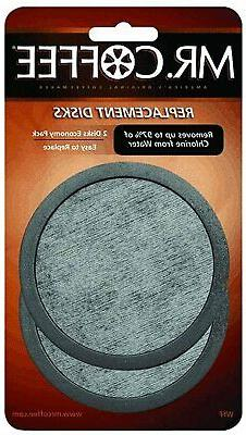 MR. COFFEE  WATER FILTER REPLACEMENT DISC  2 pack