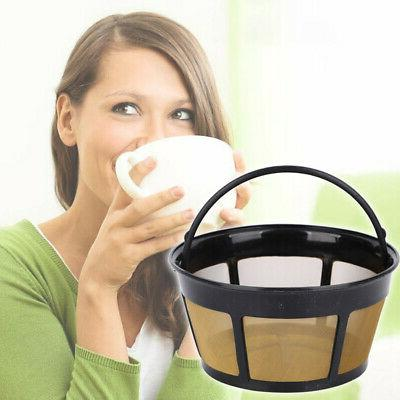 reusable basket style gold tone permanent coffee