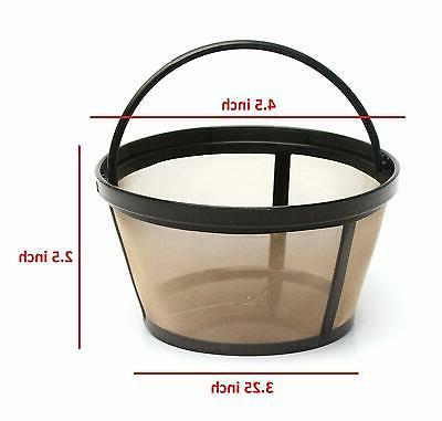 2 8-12 Cup Basket Coffee Filter for All Coffee Makers