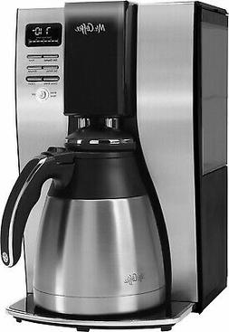 Mr. Coffee - 10-Cup Coffee Maker with Thermal Carafe - Stain