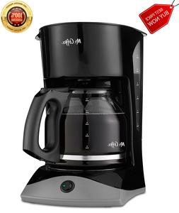 Mr. Coffee 12 Cup Black Coffee Maker Machine 900W, ORIGINAL