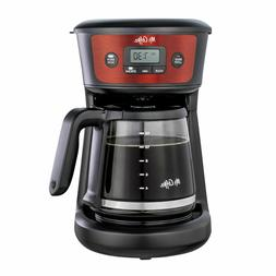 Mr. Coffee 12-Cup Programmable Coffeemaker, Strong Brew Sele