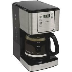 Mr Coffee 12 Cup Programmable Stainless Steel Coffee Maker J
