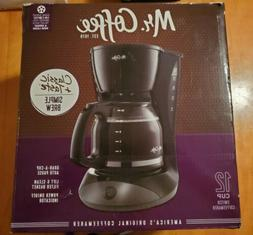 Mr. Coffee - 12-Cup Switch Coffee Maker + Simple Brew - Blac