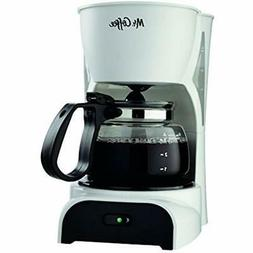 Mr. Coffee 4-Cup Maker, White DR4-RB Kitchen &amp Dining