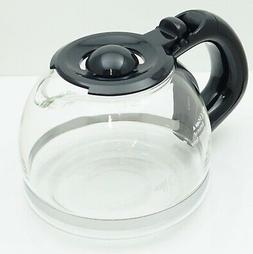 Mr. Coffee 4 Cup Replacement Glass Carafe, Black, 191640-000