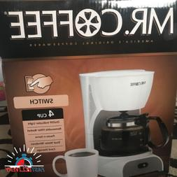 Mr. Coffee 4-Cup Switch Maker, White Small Appliances kitche