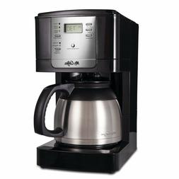 Mr. Coffee 8 Cup Thermal Programmable Stainless Steel Coffee