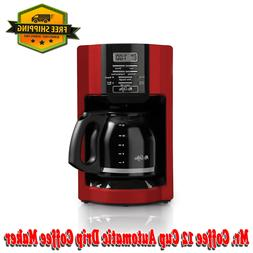 Mr. Coffee Advanced Brew 12 Cup Coffee Maker Machine Program