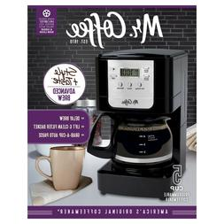 Mr. Coffee Advanced Brew Programmable Coffee Maker 5-cup FRE