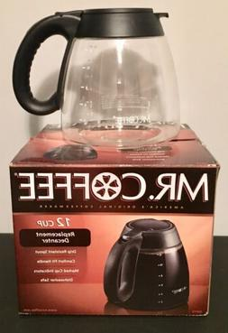 MR COFFEE Coffeemaker Pot 12-Cup REPLACEMENT DECANTER CARAFE