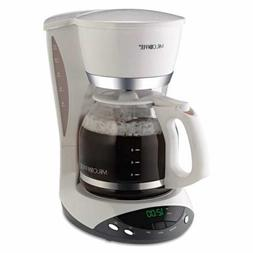 Mr. Coffee DWX20 Brewer - 12 Cup - White