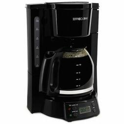 Mr. Coffee BVMC-EVX23 12-Cup Programmable Coffeemaker, Black