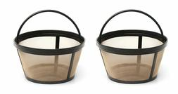 Mr. Coffee GTF2-1 Basket-Style Gold Tone Permanent Filter 10