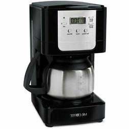 Mr. Coffee JWX9-RB 5-Cup Programmable Coffeemaker, Black wit