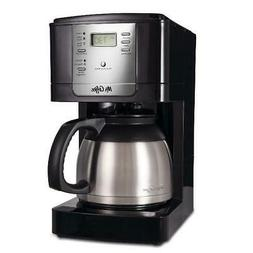 Mr Coffee Maker 8 Cup Thermal Programmable Stainless Steel T