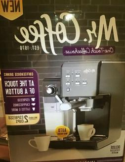 Mr. Coffee One-Touch CoffeeHouse Espresso and Cappuccino Mac