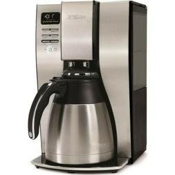 Mr. Coffee - Optimal Brew10-Cup Coffee Maker - Stainless Ste