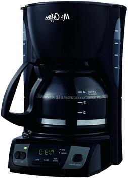 Mr. Coffee Simple Brew 5-Cup Programmable Coffee Maker, Blac