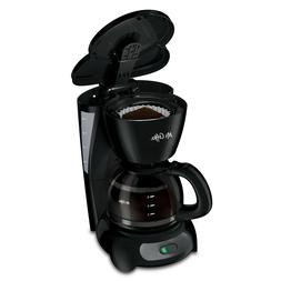 Mr. Coffee Simple Brew Switch Coffee Maker, 4-Cup, Black New