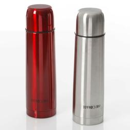 Mr. Coffee Stainless Steel Travel Thermal Crowell Thermos ~