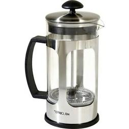 NEW Gibson 78762.01 Daily Brew 1.2QT Coffee Press, Glass Coo
